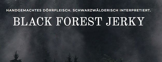 BLACK FOREST JERKY